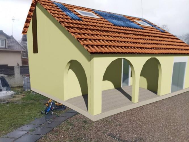 Architectes trouver votre architecte loft maison bois contemporaine - Prix extension maison 15m2 ...