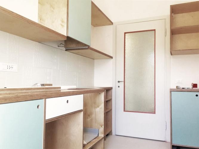 Renovation D Un Appartement Design Cuisine Et Salle De Bain