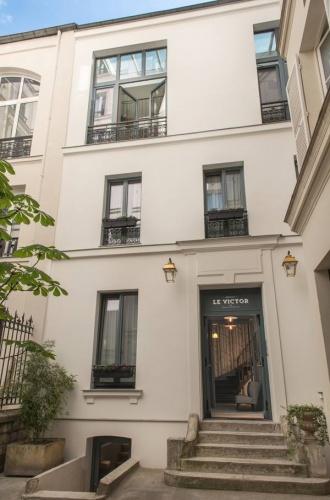 Hôtel pour artistes à Paris : Façade