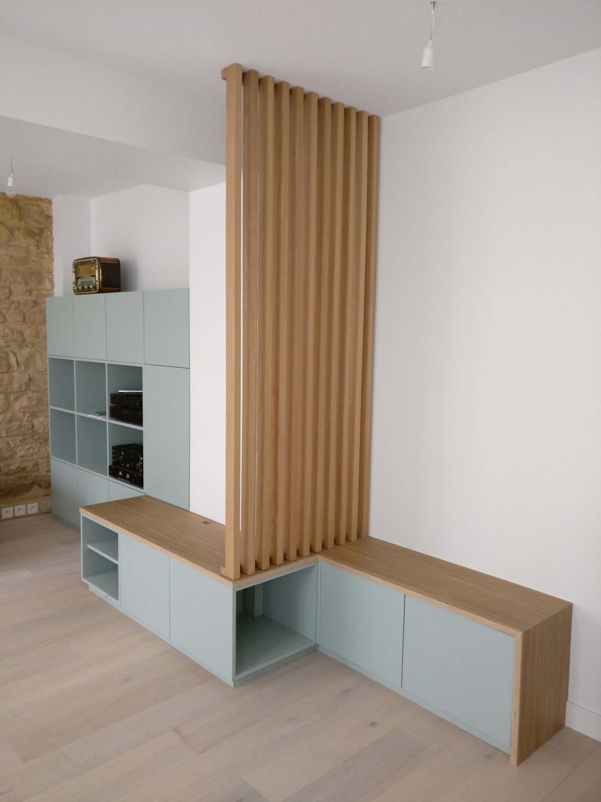Appartement sur trois niveaux
