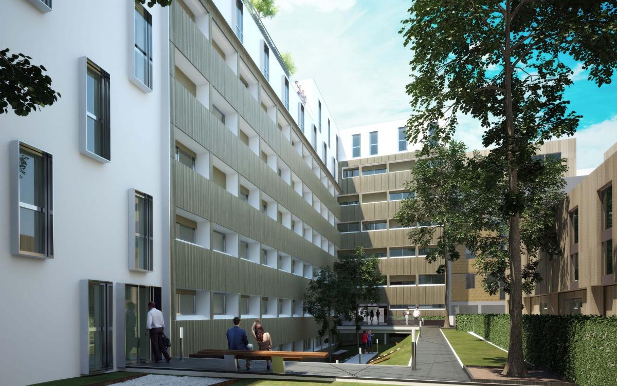 231 logements à Paris - Construction neuve de 81 logements et réhabilitation de 150 logements