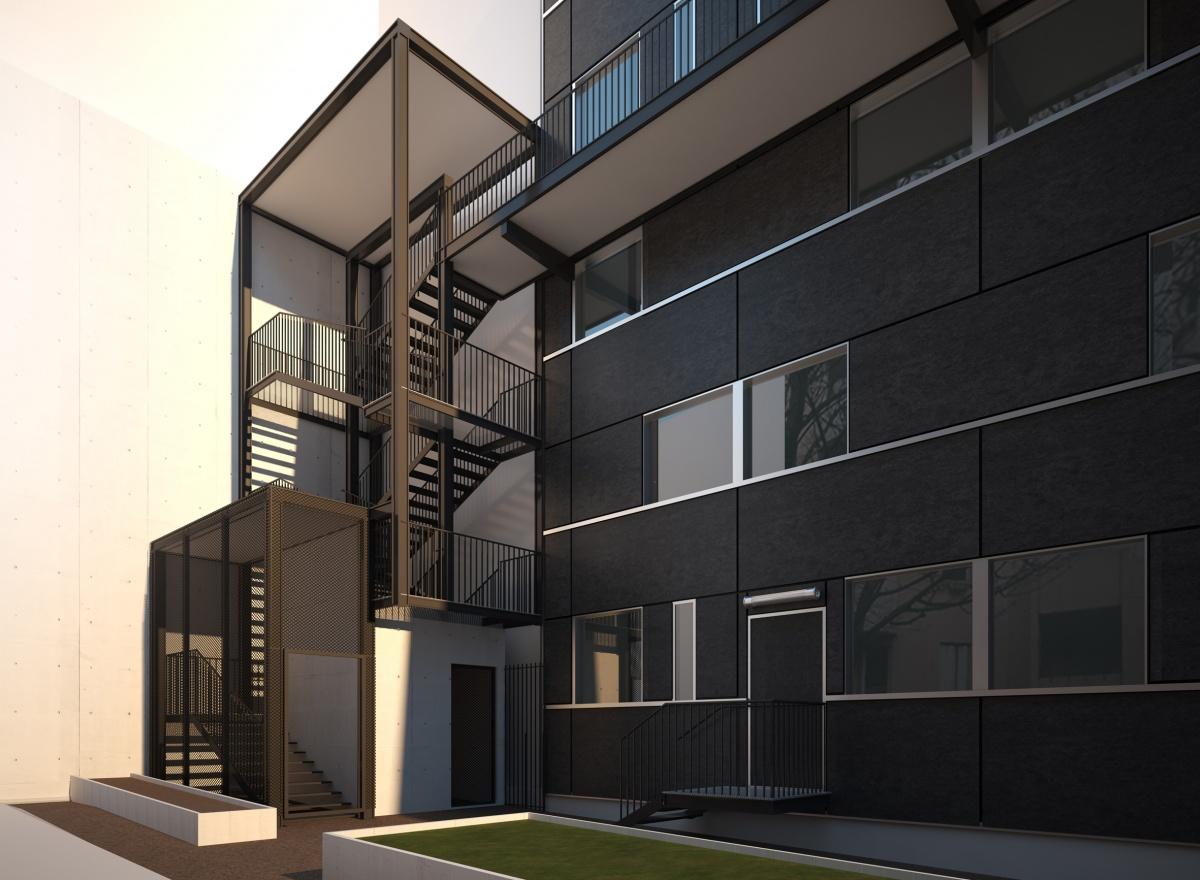 17 logements à Paris 19° : ESCALIER-V2