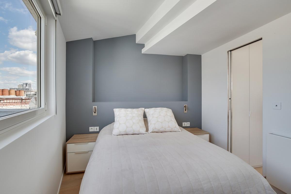 Réaménagement d'un appartement à Paris et création d'un rooftop : renovation architecte