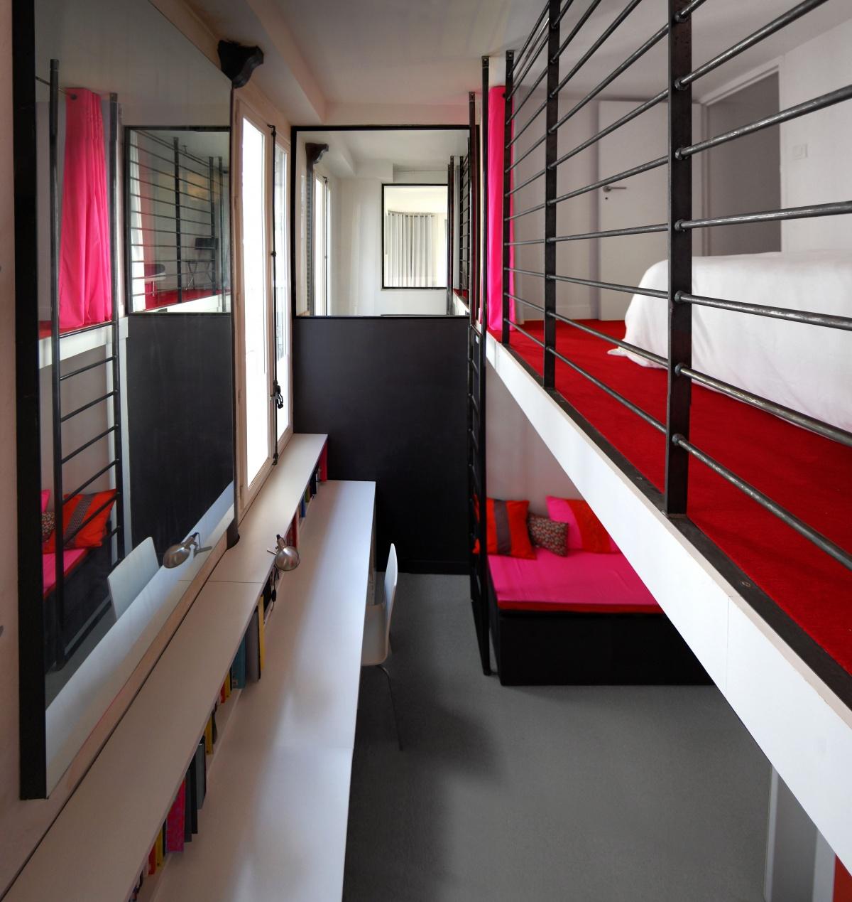 Duplex à Paris : Chambre