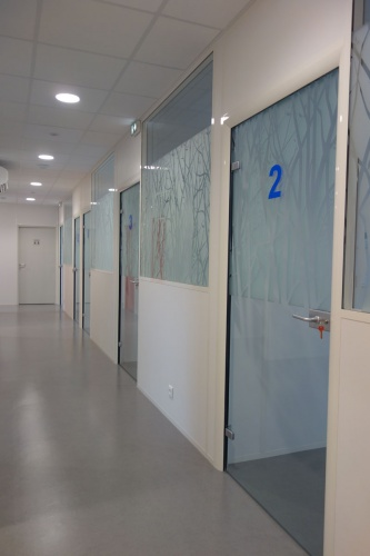 Aménagement d'un centre de médecine du travail