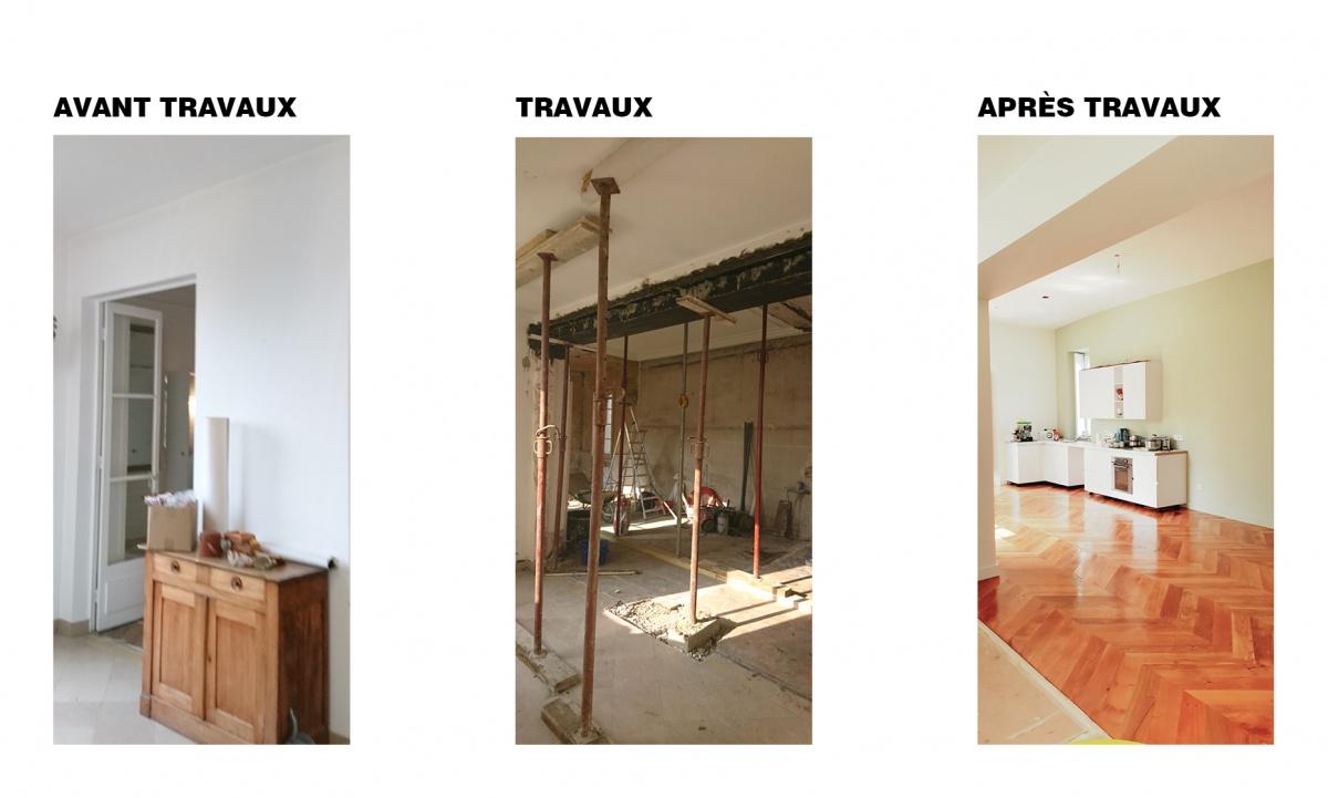 Maison à Meudon -Transformation et modernisation d'une maison