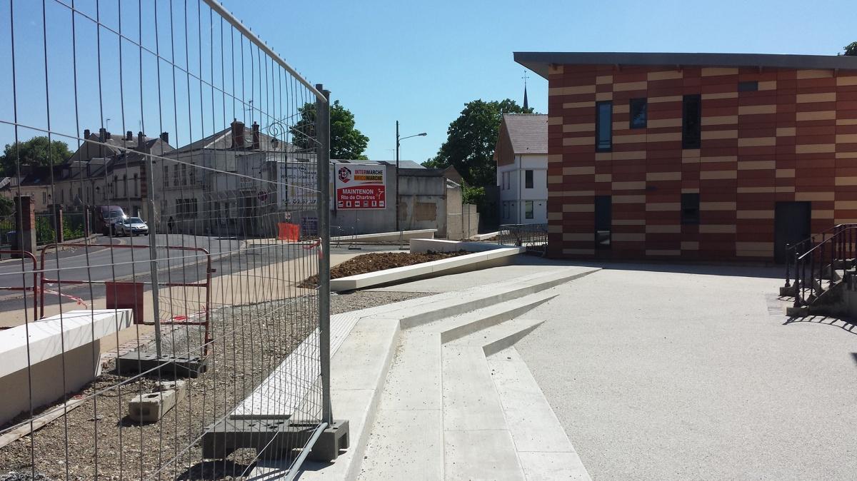 Urbanisme // Projet urbain d'espace public - Réaménagement du secteur des Georgeries - Maintenon