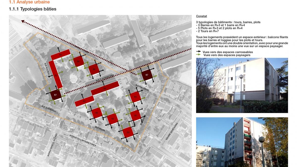 Urbanisme // Diagnostic et étude de faisabilité - Le Blanc Mesnil