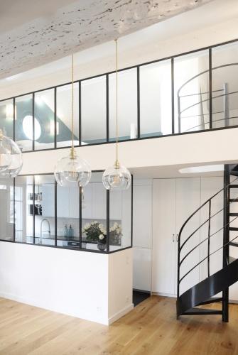 Appartement à Paris 16° : Rénovation aménagement intérieur architecte 003