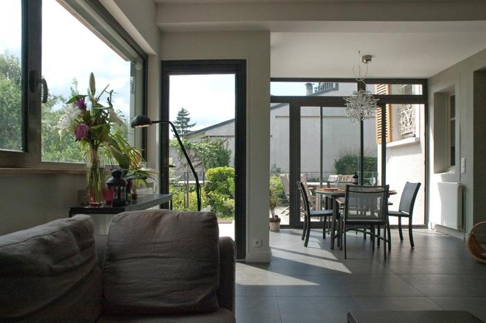 Extension de maison : salon3 web