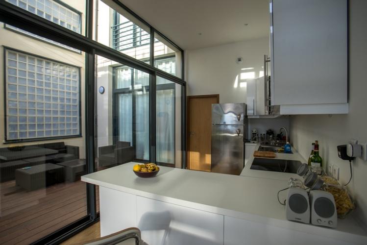 Construction d'un loft : 9 La cuisine.jpg