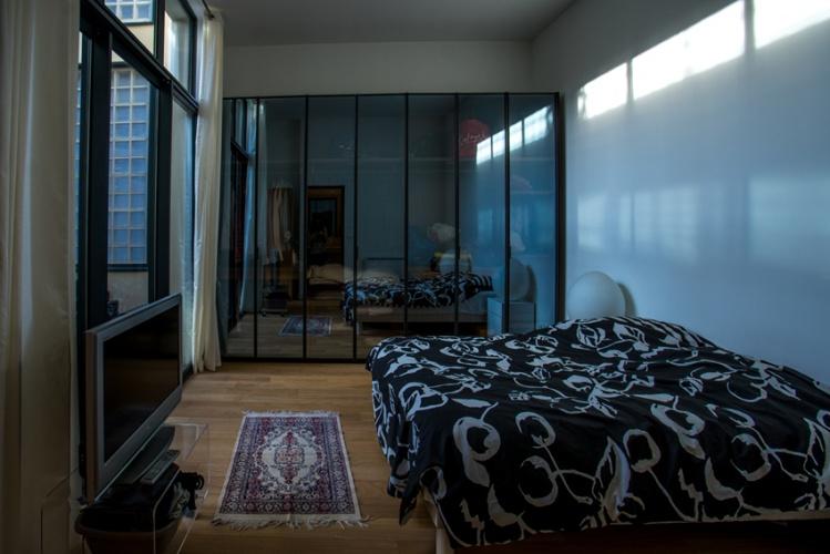 Construction d'un loft : 14 La chambre.jpg