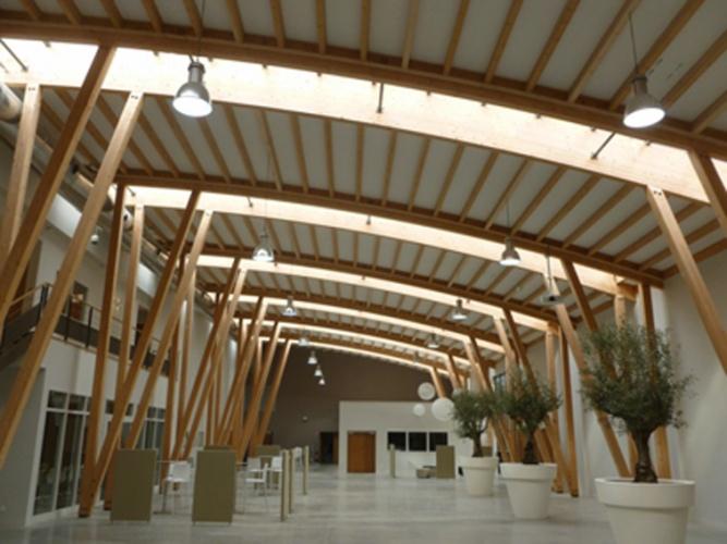 Construction d'une extension BBC d'un atelier de confection