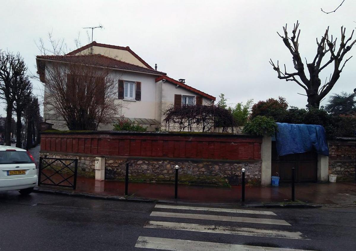 L'extension et la surélévation d'une maison individuelle à Saint Maur des Fossés
