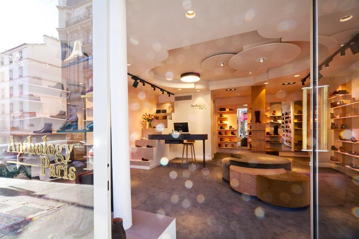 Boutique Anthology Paris - Rue Lepic