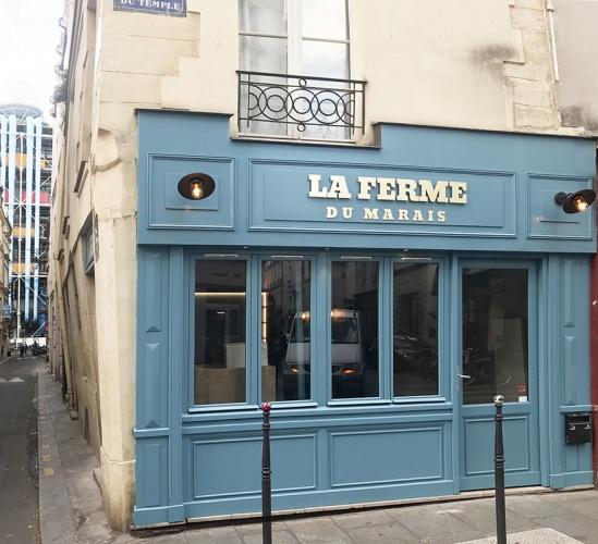 Restaurant dans le Marais