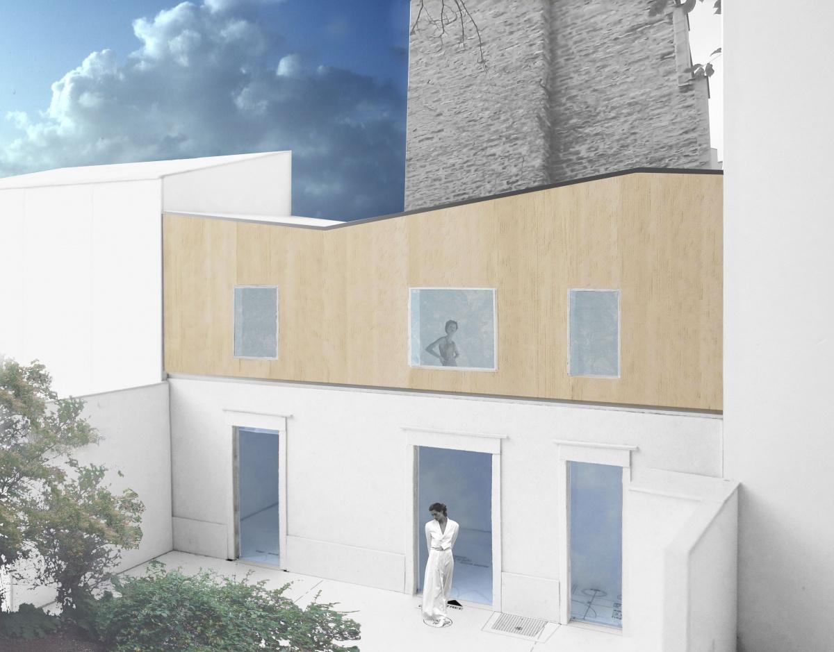 Surélévation d'une maison à Levalloie-Perret
