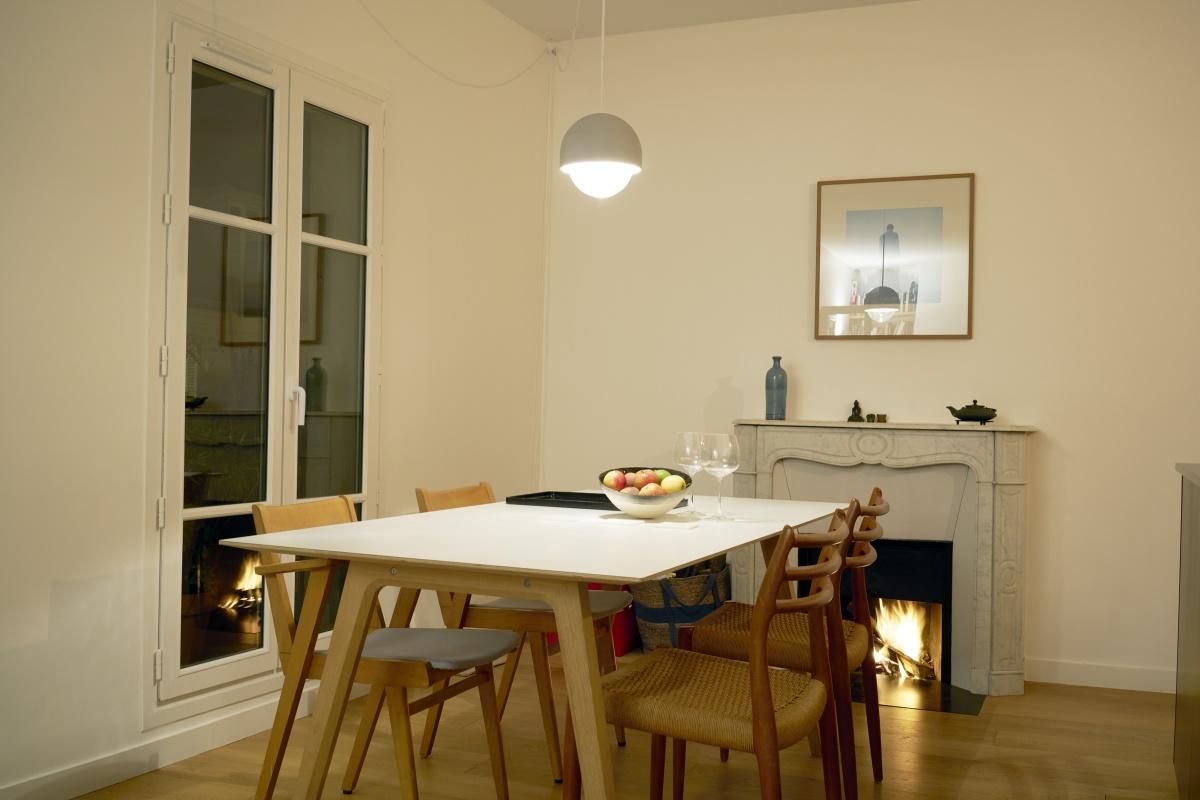 Aménagement d'un appartement Quartier Beaubourg