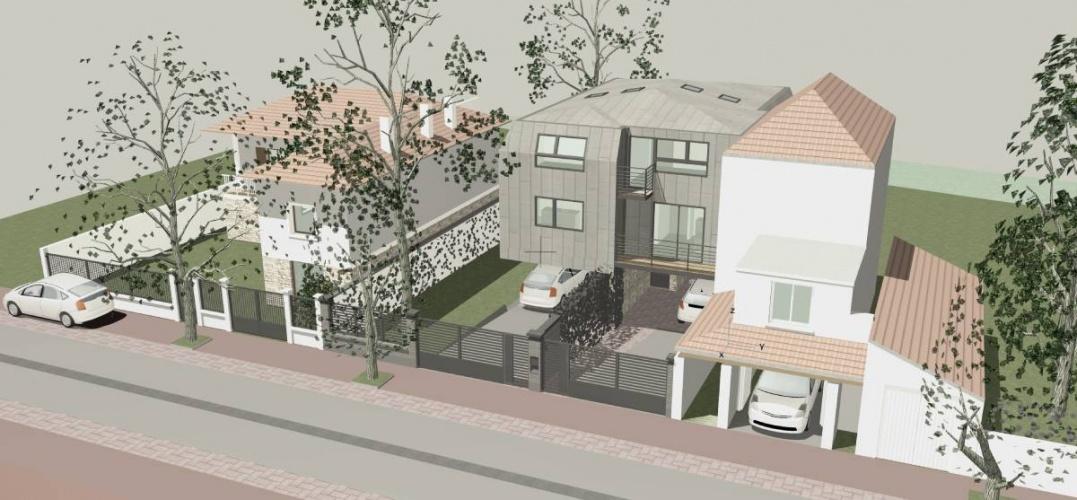Maisons contemporaines à Créteil : VUE LOINTAINE