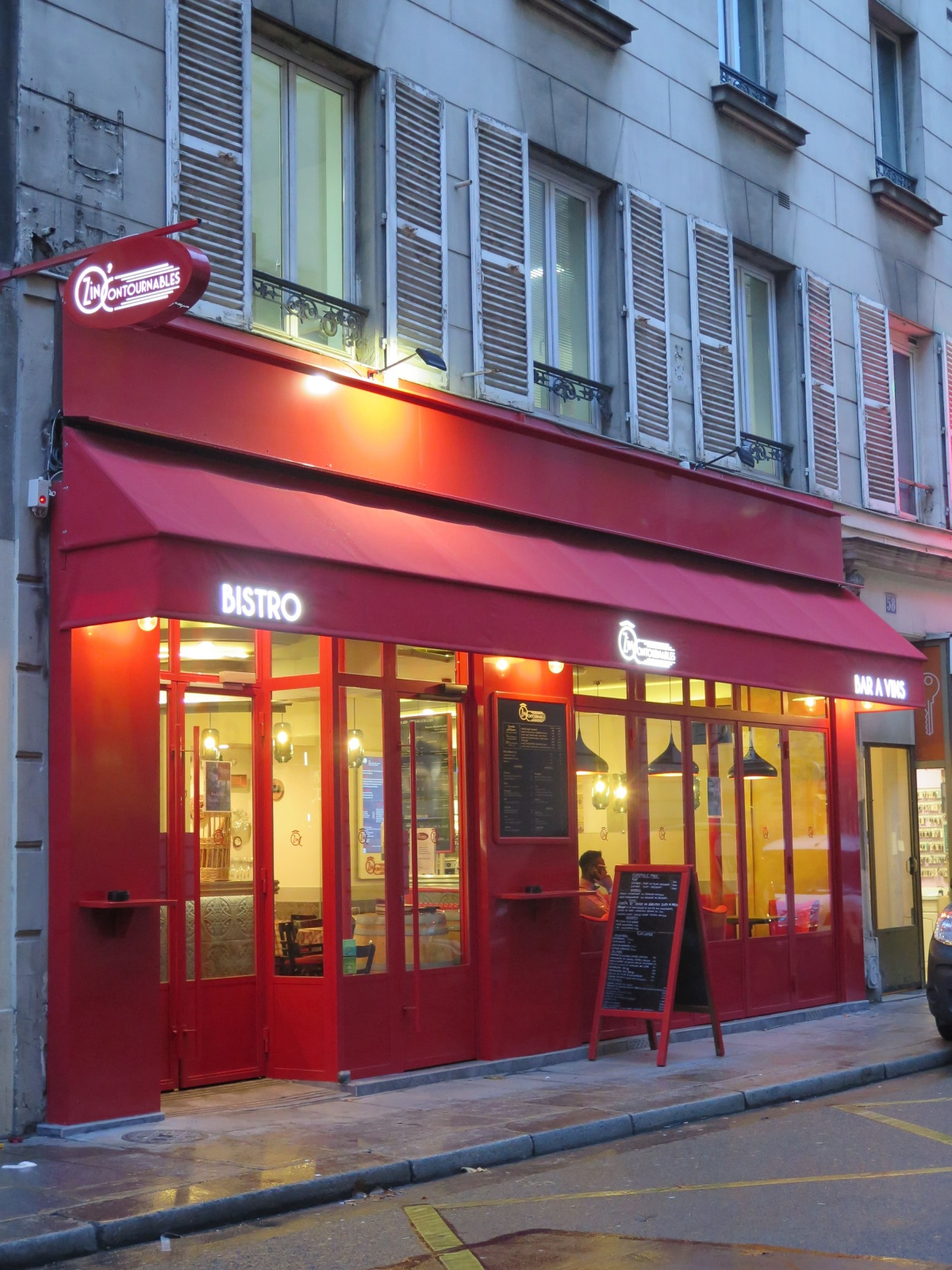 Restaurant Paris 8