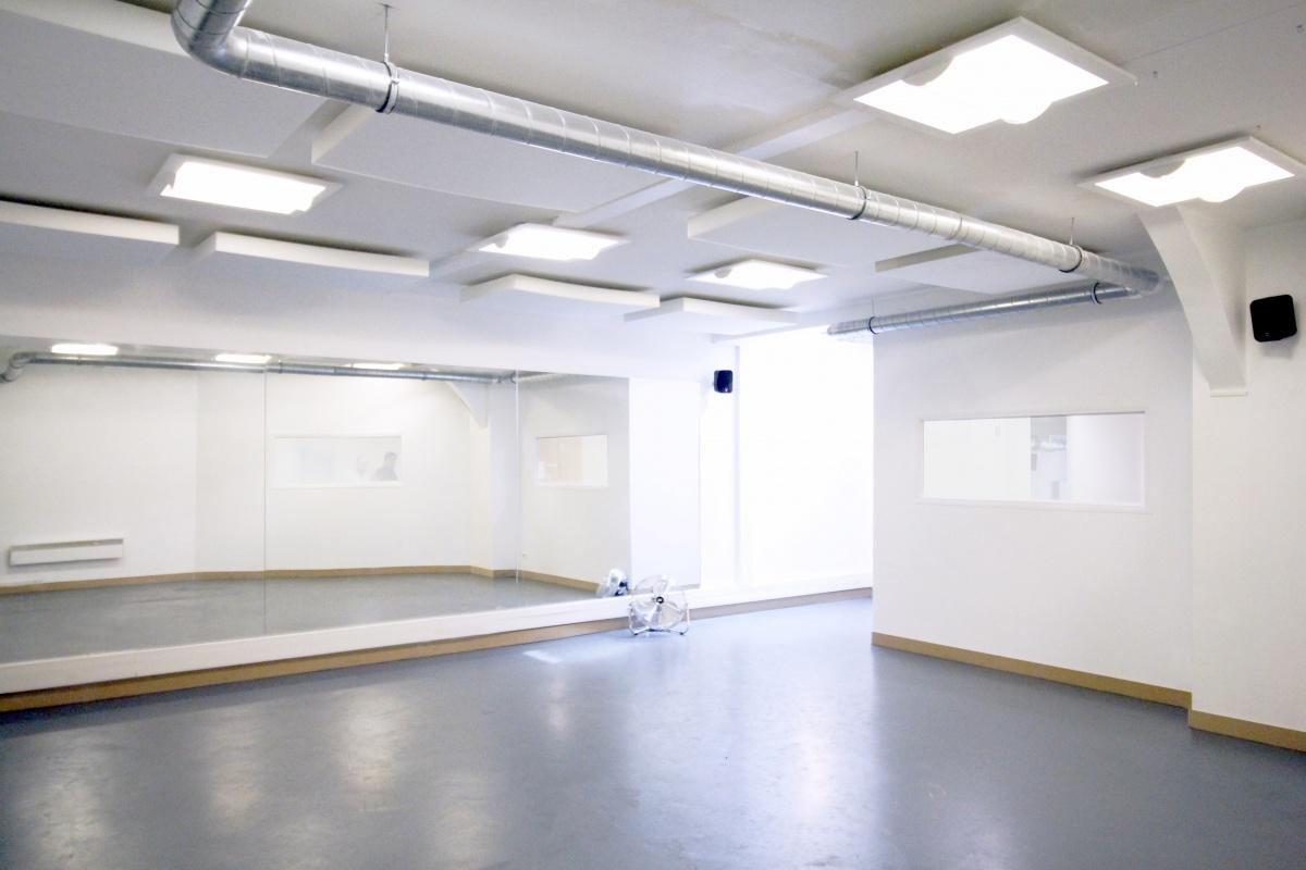 Aménagement d'une école de danse