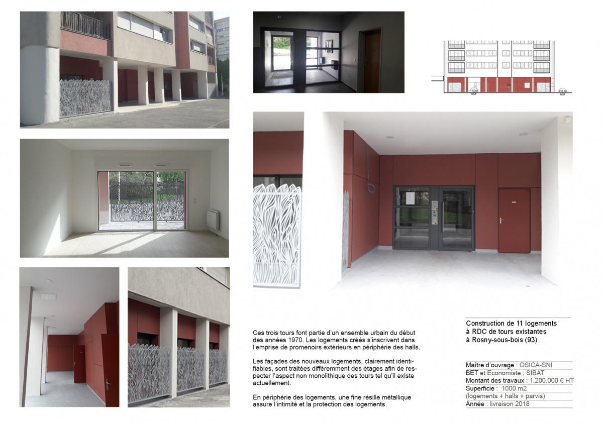 Construction de 11 logements