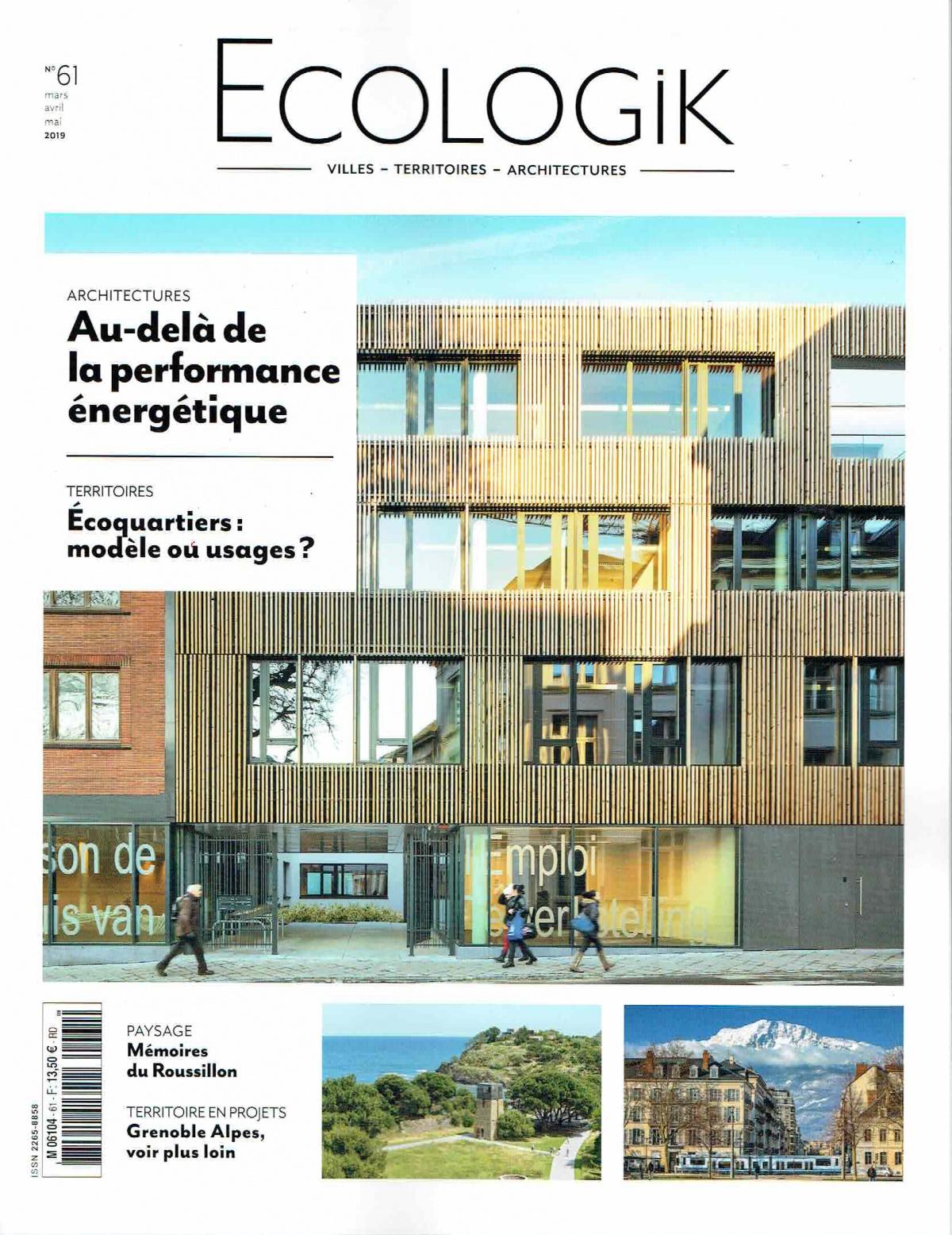 EcologiK, 2e trimestre 2019