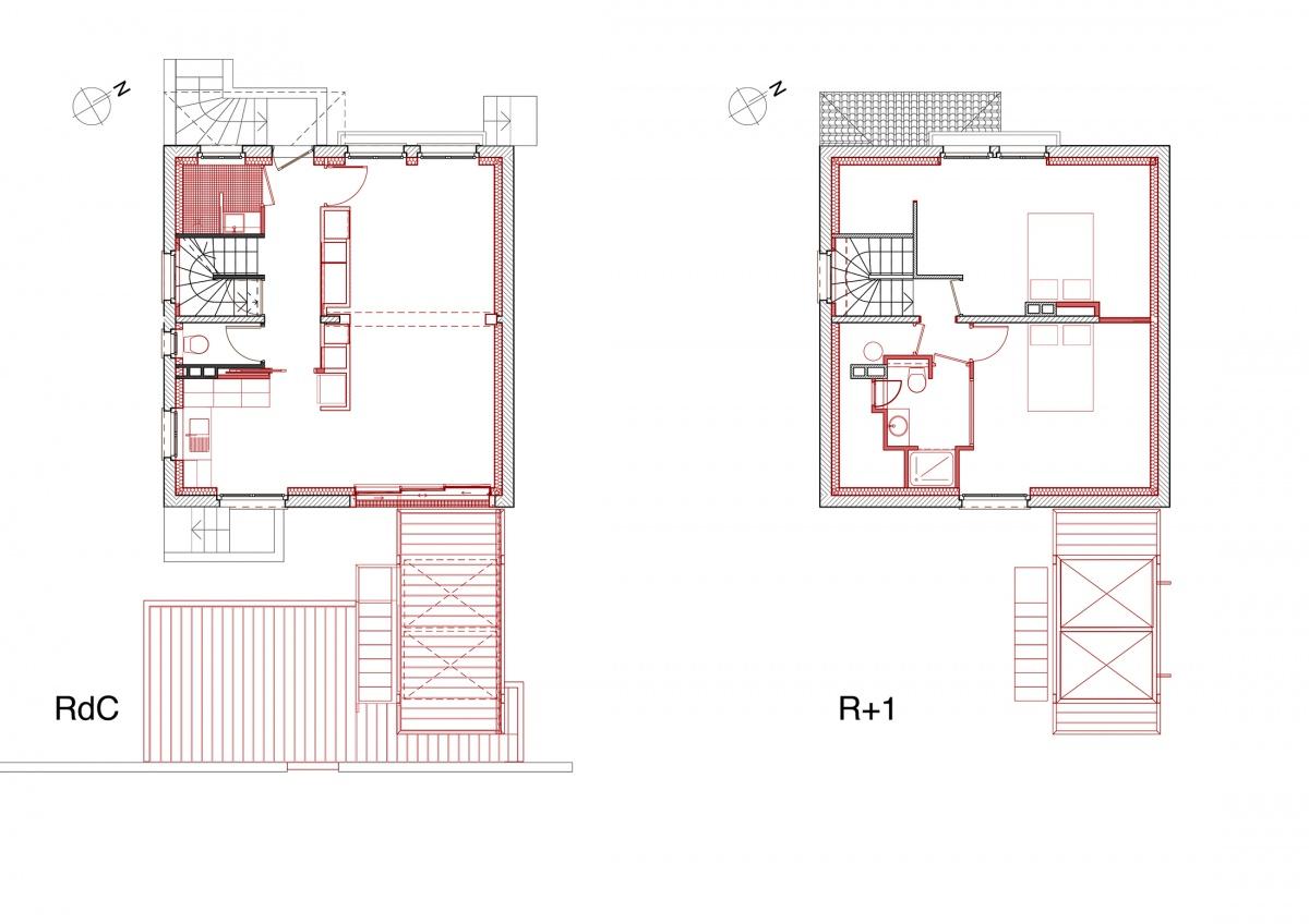 Terrasse Belvédère : 10 D3 book  4 1. Et.1er + RdC
