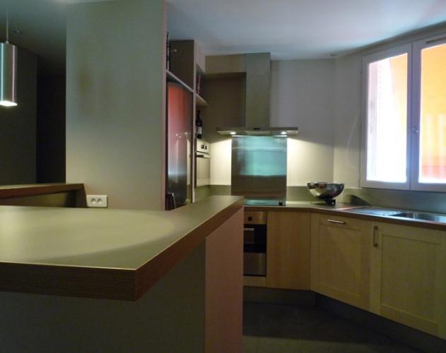 Restructuration et rénovation d'un appartement : Vue 2