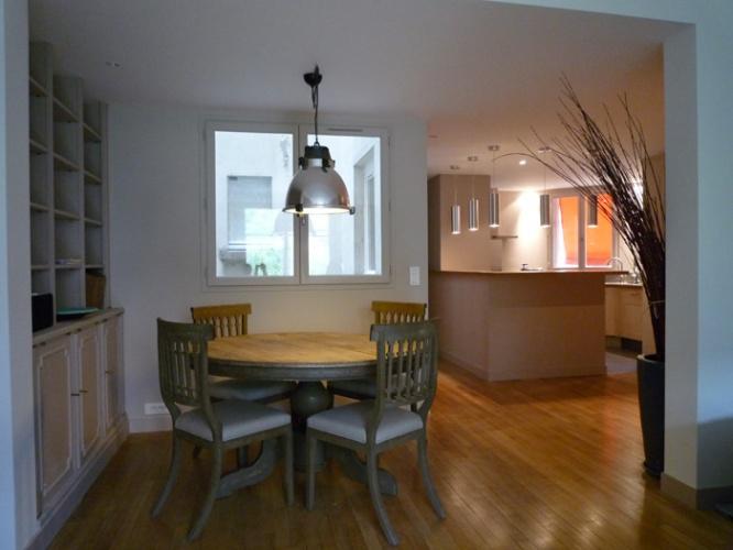 Restructuration et rénovation d'un appartement : Vue 4