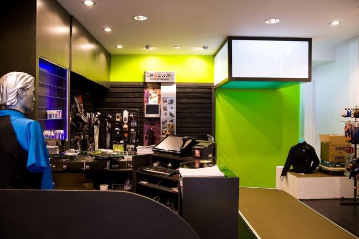magasin endurance shop paris paris une r alisation de cycled. Black Bedroom Furniture Sets. Home Design Ideas