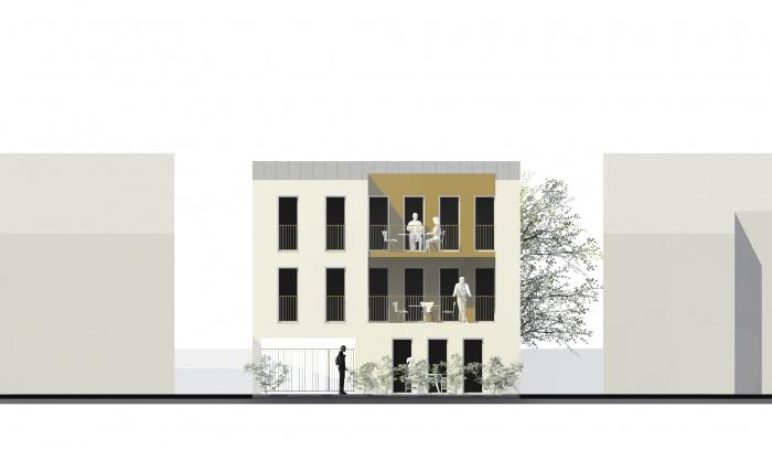 Petit immeuble de logements