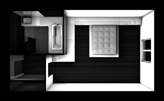 Etude Pour Une Chambre D Hotel Design A Paris Une Realisation De