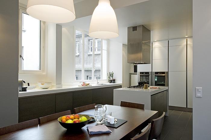 appartement haussmanien paris une r alisation de texier soulas. Black Bedroom Furniture Sets. Home Design Ideas