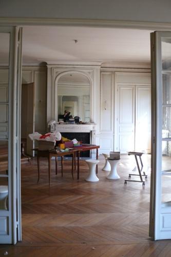 Appartement haussmanien : avant projet GD SEJOUR