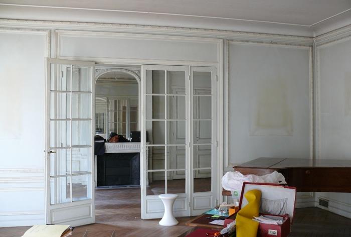 Appartement haussmanien : avant projet SEJOUR