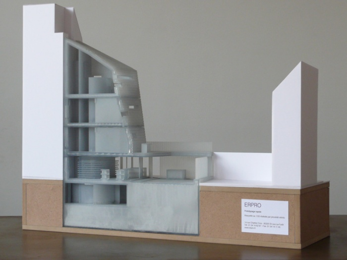 Maisons Be-TWIN : maquette