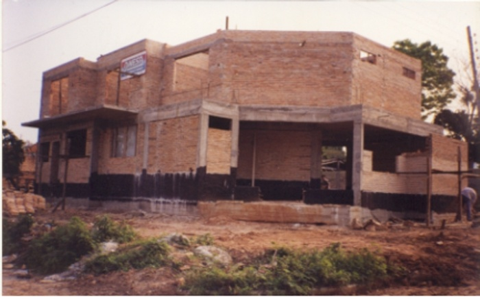 Villa JOLAY : Avant la pose de toiture