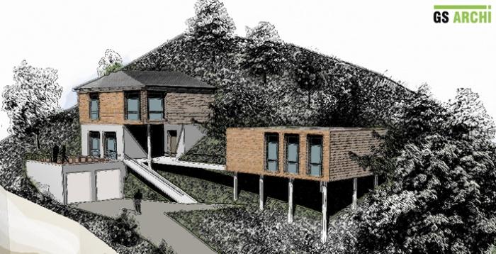 Architectes maison individuelle avec dojo for Architecte marseille maison individuelle