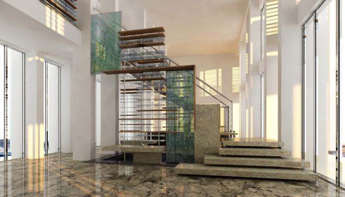 Projet d'une escalier