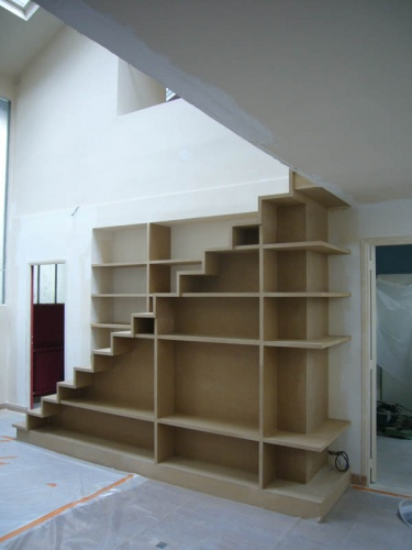 Escalier Bibliotheque Pictures to pin on Pinterest