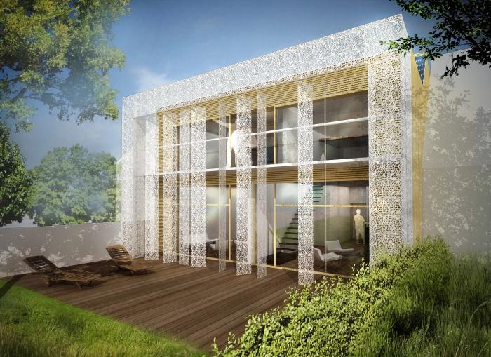 Maison passive vitry sur seine une r alisation de t design for Maison passive design