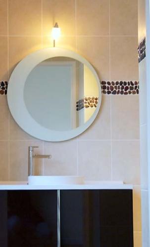 Rénovation d'un appartement à l'Ile de la Jatte (92) : salle de bain