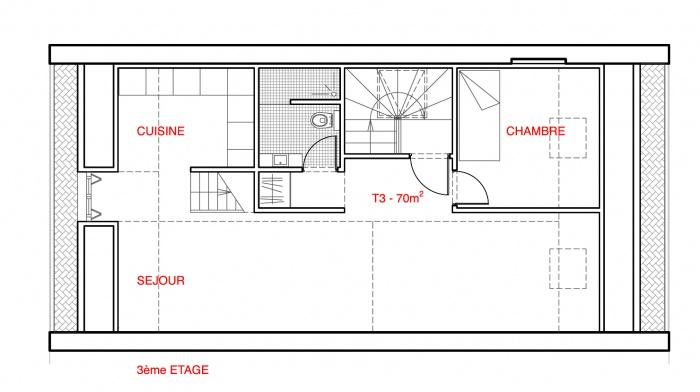 Rehabilitation rue Lesueur : LES-R+2.gif