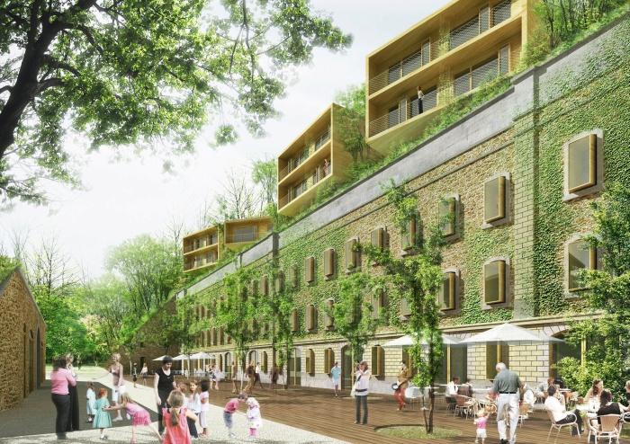 Un projet réalisé par KLNB Architectes