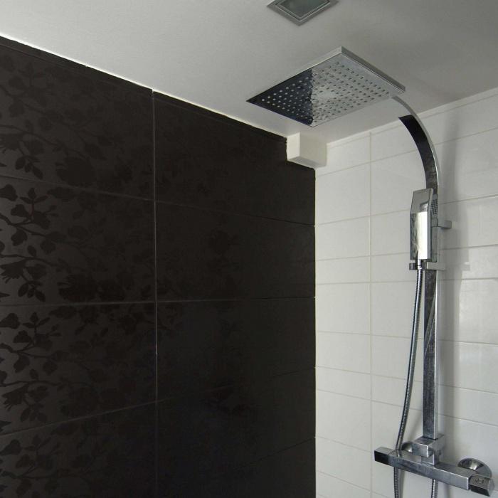 Pavillon à Meudon : Espace de douche