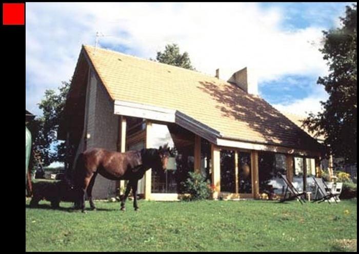Maison ossature bois dans le Vexin