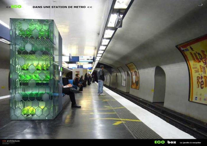 Eco box : Eco box metro
