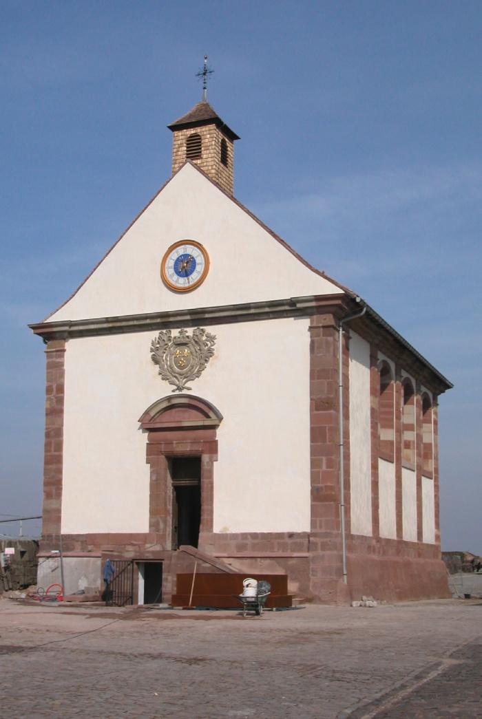 Restauration et aménagement de la chapelle - Citadelle de Bitche