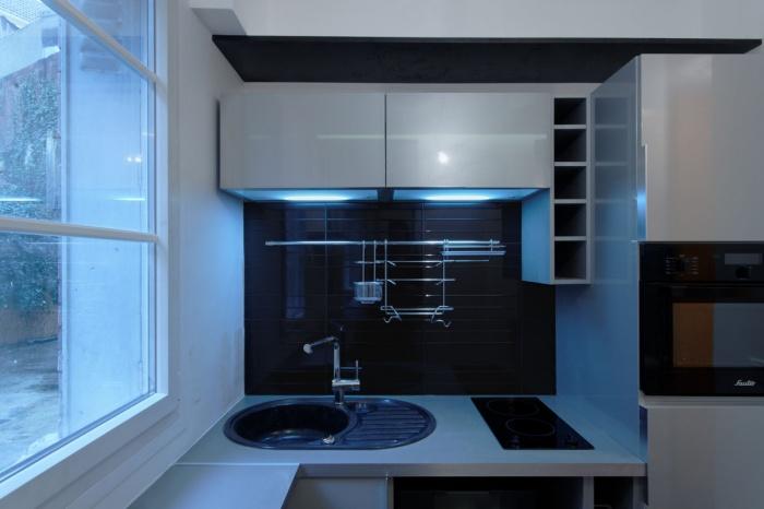 Restructuration complète d'un petit appartement